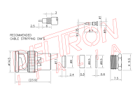 BNC-01K-TGN - Deltron Italia